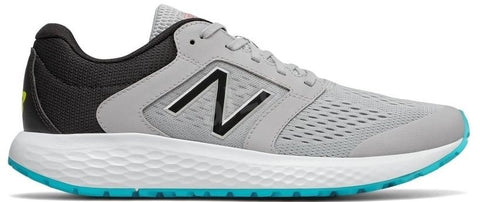 New Balance Men's 520 v5 RUNNING SHOES ( M520CV5 , Grey/Blue )  https://thesweatshop.club/products/new-balance-mens-running-shoes-m520cv5-lead-royal  Inspired by Fresh Foam, designed for comfort, these men's New Balance 520 v5 running shoes add underfoot flex grooves and a new foam compound to enhance comfort running errands or miles..Buy online India.Cod available.A