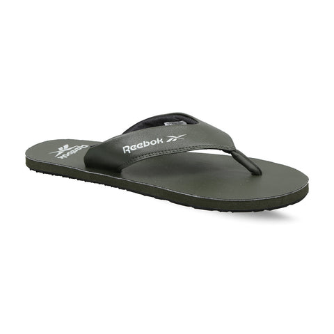 Reebok Men's Swimming Aerys Flip Lp Slippers (FV8778, DARK CYPRESS AND BLACK)