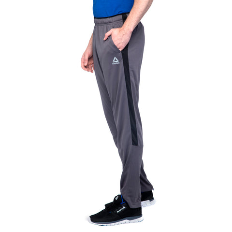 REEBOK MEN'S Training Workout Ready Knit Oh Pants ( FK2117, ASH GREY …  https://thesweatshop.club/products/reebok-mens-training-structure-track-pants-fk2117-ash-grey  The Reebok Training pants for men. The elasticated waistband with drawcords ensure a secure fit and it comes with two side zip pockets. The SPEEDWICK construction effectively wicks moisture away from the skin, helping you stay dry and comfortable while you train or go for a run.BUY ONLINE INDIA.COD AVAILABLE.A