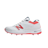 New Balance Cricket 4030v3 Spike Shoes (CK4030B3). Designed specifically for the all-rounder - 11 Spike, 7/4 configuration , lightweight, responsive cricket spike shoes. Buy India online. COD available e