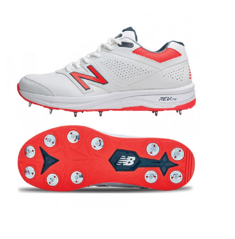 New Balance Cricket 4030v3 Spike Shoes (CK4030B3). Designed specifically for the all-rounder - 11 Spike, 7/4 configuration , lightweight, responsive cricket spike shoes. Buy India online. COD available a