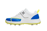 PAYNTR X Bowling Spike Shoes (Adults) - White & Blue