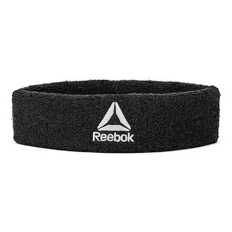 Made from thick towelling material, Reebok Sports Headbands absorb sweat for reduced irritation. Easy to wash, the elasticated band fits snug to your head for focussed training sessions. SPECIFICATION & FEATURES Colours: black / grey / white Buy online india.Cod available a