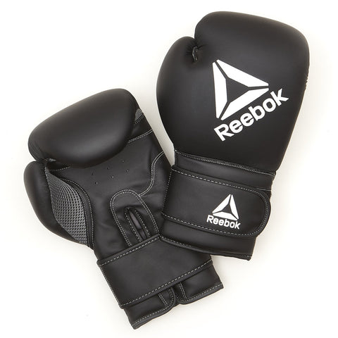 The black Reebok boxing gloves are ideal for use in bag and pad work, they are very comfortable and durable. Buy online India.COD available a