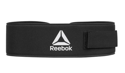 Reebok Weightlifting Belt  https://thesweatshop.club/products/reebok-weightlifting-belt  Reinforcing your fundamental lifts, the Reebok Weightlifting Belt delivers tailored pressure for core and lumbar support. Fitted with a steel buckle fastening and long Velcro strap, the belt levers into position for maximum pressure whilst quickly releasing for comfort. Buy online India. COD available a