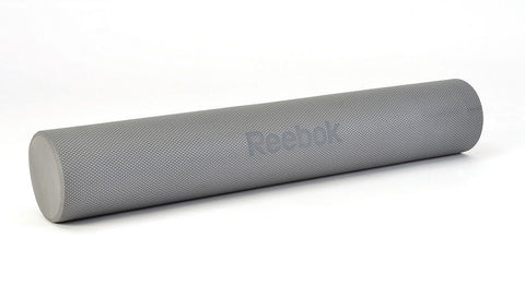 Reebok Long Round Foam Roller https://thesweatshop.club/products/reebok-long-round-foam-roller Roll with it. The long Reebok Foam Roller is ideal if you intend to use it to massage out tightness in your back. Foam rolling is a form of self-myofascial release, or self-massage, that can help loosen up tight muscles and stimulate the healing and recovery process. Measuring 90cm in length, the roller allows you to r...