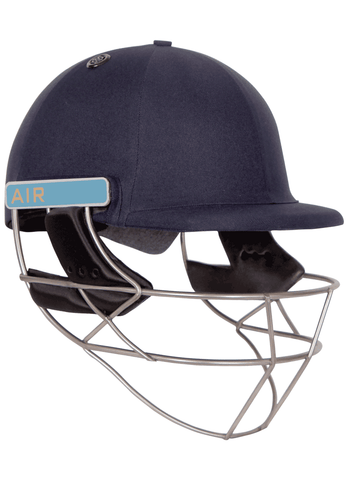 Shrey Master Class Air Titatnium Cricket Helmet (Navy).Currently the lightest helmet on the market to certify with the Latest British Safety Standards. Weighs approximately 750gms.Buy online India.