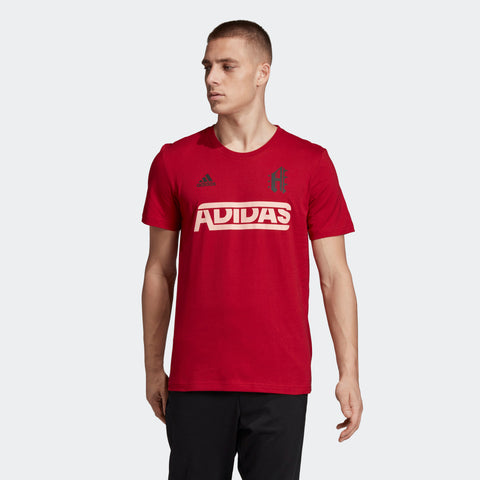 "ADIDAS MEN's ATHLETICS SPORT ID TEE  https://thesweatshop.club/products/adidas-mens-athletics-3-badge-of-sport-camouflage-tee-1  ADIDAS SPORT ID TEE - A TEE WITH LOVE FOR THE BRAND WITH THE 3-STRIPES. Switch out of workout mode in this sporty tee. It features a big and bold number ""3"" on the back and adidas branding on the front. The soft cotton jersey and classic crewneck style ensure all-day comfort.BUY ONLINE INDIA.COD AVAILABLE. A"