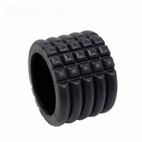 The SweatShop Mini foam roller is especially portable, due its small size; making it easy to store and carry b
