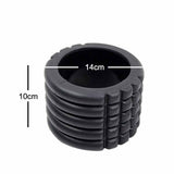 The SweatShop Mini foam roller is especially portable, due its small size; making it easy to store and carry c