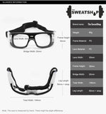 The SweatShop Unisex Sports Safety Glasses / Goggles : full protection and safety for your eyes. Buy Online India. COD available c