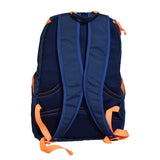 The SweatShop Backpack (Blue / Orange)- Spacious, durable and lightweight backpack. Buy online India. COD available d
