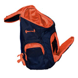 The SweatShop Backpack (Blue / Orange)- Spacious, durable and lightweight backpack. Buy online India. COD available f