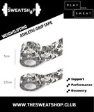 The SweatShop Weightlifting Athletic Tape is a must have accessory for Weightlifters, Powerlifters, Gymnasts, Calisthenics, CrossFit Athletes and other Sports too. Can be used to wrap your thumbs, fingers or wrist to support weak or injured joints or muscles. Buy online India. COD available.