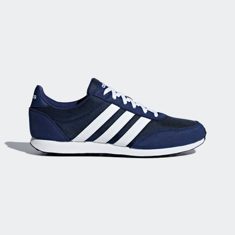 ADIDAS MEN'S SPORT INSPIRED V RACER 2.0 SHOES (B75795,DARK BLUE / CLOU…  https://thesweatshop.club/products/adidas-mens-sport-inspired-v-racer-2-0-shoes-b75795-dark-blue-cloud-white-cloud-white  ADIDAS V RACER 2.0 SHOES Racing back from the '70s, these shoes show off a classic running look. The sporty nylon upper is detailed with overlays that have the look of suede. Rubber outsole Textile and synthetic upper / Textile lining / Rubber outsole Color Product code: B75795.Buy online India.COD available.a
