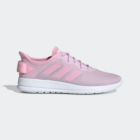 ADIDAS WOMEN'S YATRA SHOES MODERN TRAINERS WITH ENHANCED CUSHIONING. A versatile look that nods to its roots. These running-inspired shoes have an airy mesh upper contrasted with sleek 3-Stripes. code: F36514.Buy online India.COD available.a