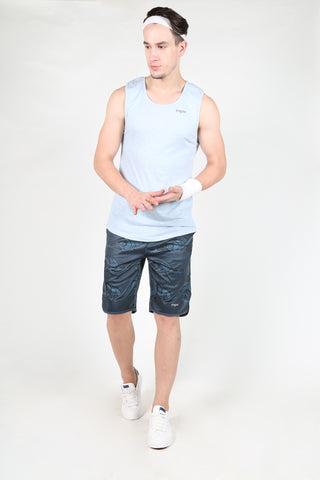 Yogue Active Wear Men's Shorts - Night Wave