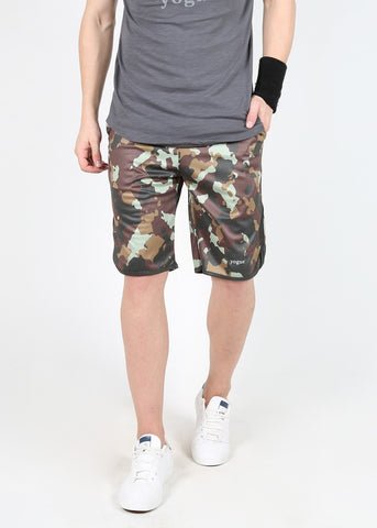 Yogue Active Wear Men's Shorts - Camouflage
