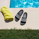 ADIDAS MEN'S SWIMMING ADILETTE AQUA SLIDES (F35543, CORE BLACK / CLOUD…  https://thesweatshop.club/products/adidas-mens-swimming-adilette-aqua-slides-f35543-core-black-cloud-white-core-black  ADIDAS ADILETTE AQUA SLIDES POST-SWIM SLIDES WITH ENHANCED CUSHIONING. Rinse off after the pool in these shower-friendly sandals. Keeping it simple, the smooth slip-ons reveal their adidas DNA with signature 3-Stripes. Soft cushioning rewards tired feet with plush comfort..bUY ONLINE India. cOD AVAILABLE.f