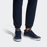 Adidas men's Essential VS Pace Shoes ( Collegiate Navy/Ftwr White/Blue-Easy low-top style. Adidas adidas sneakers for men-Navy Blue. Buy online India.COD available c
