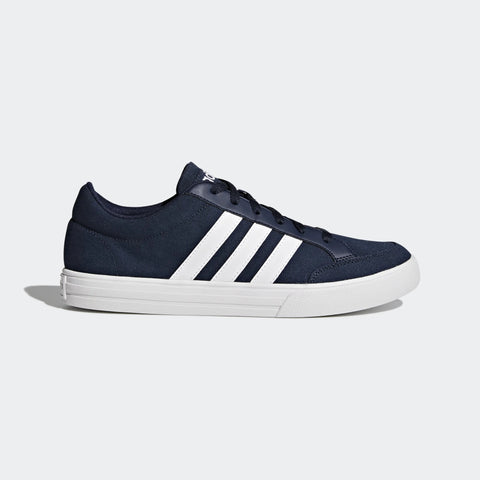 ADIDAS VS SET SHOES - Navy Blue canvas sneakers.Buy Online India a