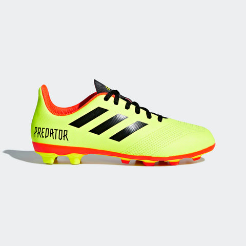 Adidas Predator 18.4 Flexible Ground Kids Football Shoes (DB2321). Buy Online India.COD available. a