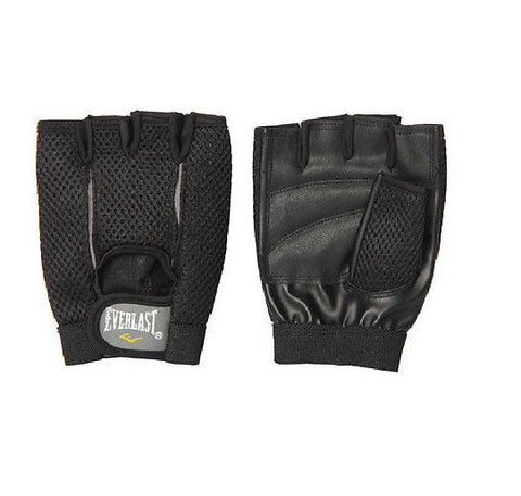 Everlast Weight Training Gloves ( Black )