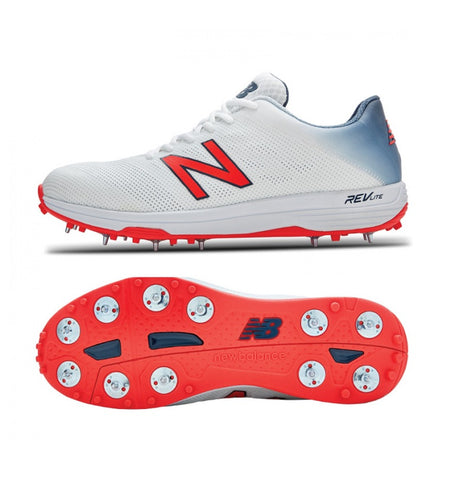 New Balance Cricket 10v3 Minimus Spike Shoes (CK10WB3).Get ready to take to the field in  7/4 Spike configuration allows for max customization. Designed for the batting all-rounder / keeper or spin bowler. Buy Online India. COD available a