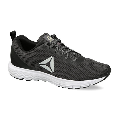Reebok Men's Zoom Runner Shoes ( DV7577 , BLACK/ASH GREY )  https://thesweatshop.club/products/reebok-mens-zoom-runner-shoes-dv7577-black-ash-grey  Rigorous running or jogging sessions call for shoes that are lightweight and flexible, and these running shoes for men will perfectly fit the bill. The knit upper and EVA midsole provide greater breathability and comfort, while the rubber outsole ensures better traction on ground.Buy online India.Cod available.c