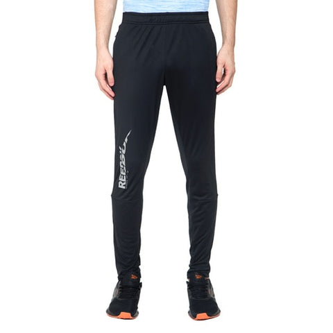 REEBOK MEN'S raining Structure Track Pants ( FQ4590, BLACK )  https://thesweatshop.club/products/reebok-mens-raining-structure-track-pants  The Reebok Training pants for men. The elasticated waistband with drawcords ensure a secure fit and it comes with two side zip pockets. The SPEEDWICK construction effectively wicks moisture away from the skin, helping you stay dry and comfortable while you train or go for a run.bUY ONLINE INDIA.COD AVAILABLE.a