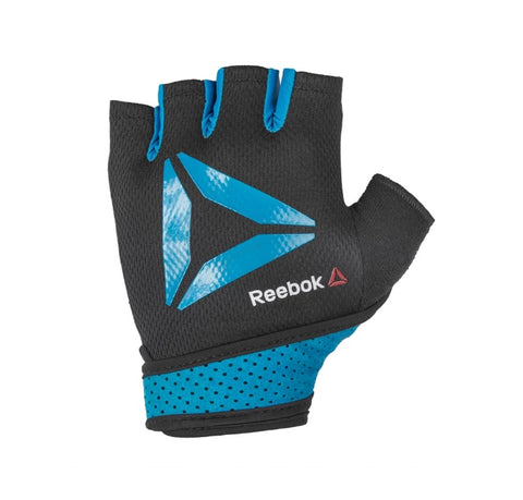 Reebok Men's Training Gloves ( Black & Blue ) - Designed to accommodate all training styles, the Reebok Training Gloves are both durable and flexible. Buy online India a