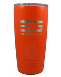 20 OZ YETI RAMBLER - POWDER COATED WITH LID