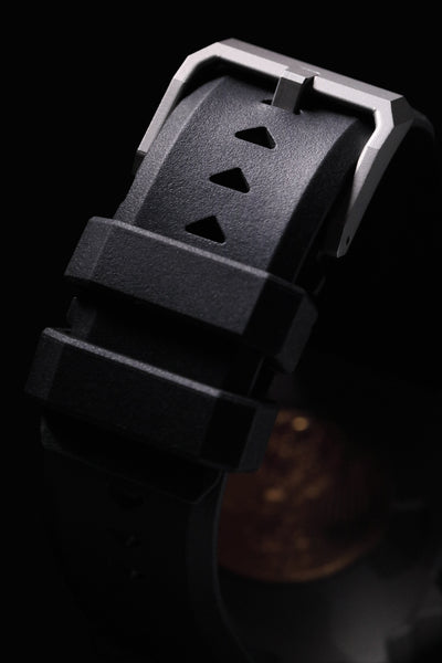 Stainless Steel Origami Watch