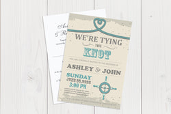 A6 Flat Wedding Invitation Ref.: A6FLT032