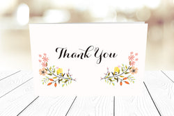 Thank You Cards Landscape Folding Ref.: TYLNDFLD002