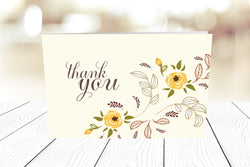 Thank You Cards Landscape Folding Ref.: TYLNDFLD003
