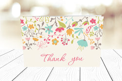 Thank You Cards Landscape Folding Ref.: TYLNDFLD004