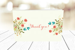 Thank You Cards Landscape Folding Ref.: TYLNDFLD005