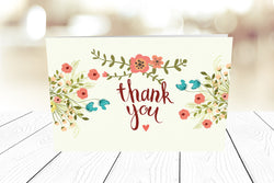 Thank You Cards Landscape Folding Ref.: TYLNDFLD006