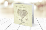 Folded Wedding Invitation Ref.: SQD113
