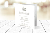 Folded Wedding Invitation Ref.: SQD135