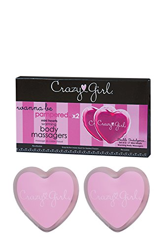 Crazy Girl Wanna Be Pampered Mini Warming Body Massagers- Set of 2
