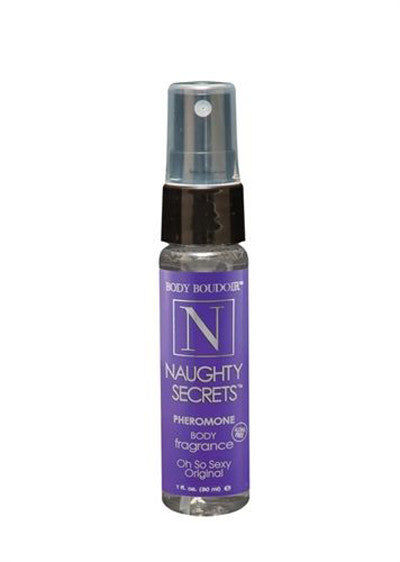 Body Boudoir Naughty Secrets Pheromone Body Fragrance Mist, 1oz