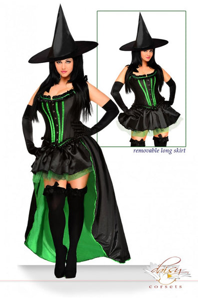5 Piece Wicked Witch Costume