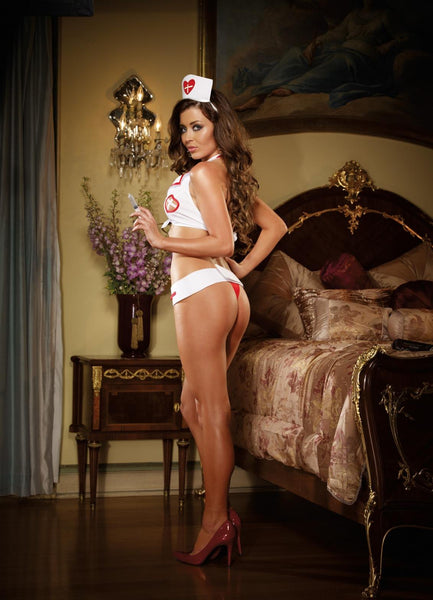 Naughty Bedroom Nurse Lingerie Costume