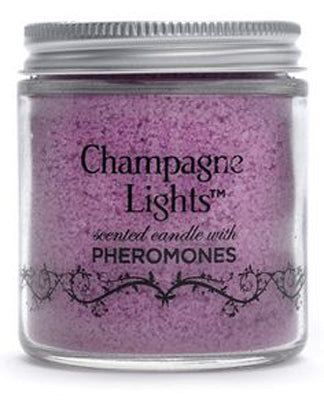 Champagne Lights Scented Candle with Pheromones