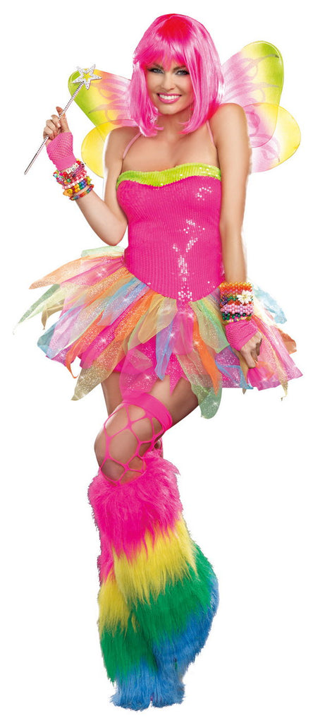 Rainbow Fairy Sexy Fantasy Fairy Costume