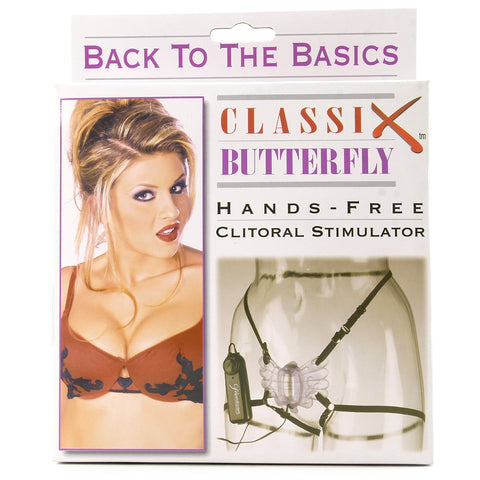 Classix Butterfly Strap-On Vibe