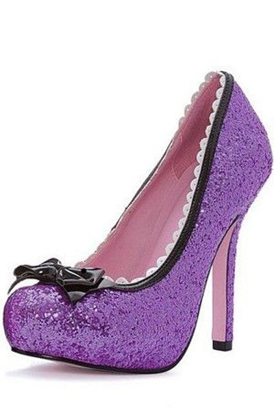 Princess 5 Inch Glitter Pump with Bow