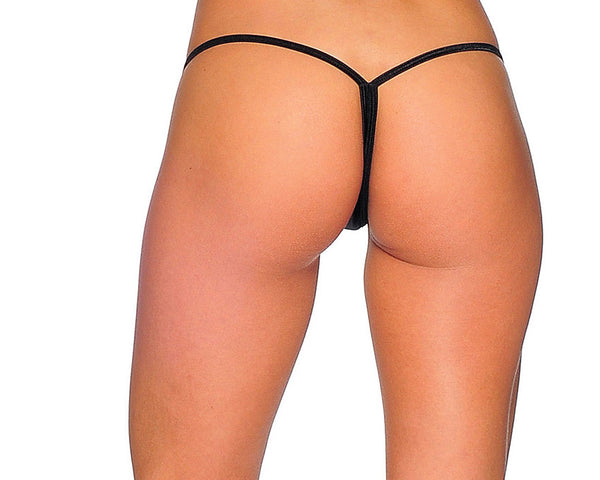 Low Back Tee G String Thong with Breakaway Clips